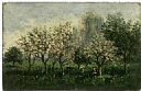Daubigny, Charles Francois,Apple Trees in Blossom